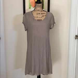 Nicole of Italy lavender & lace dress